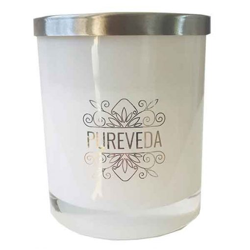 Pureveda Classic Collection Stainless Steel Lid Australian Luxury Home Fragrance