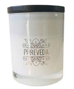 Pureveda Classic Collection Walnut Lid Australian Luxury Home Fragrance