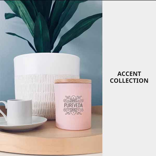 Accent Collection Pureveda Home Fragrance Candle